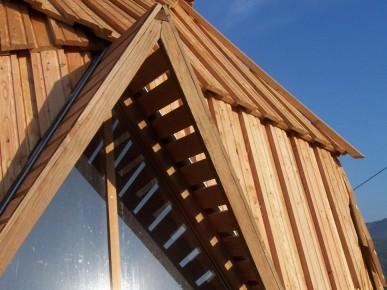 construction de maisons rondes en bois. Black Bedroom Furniture Sets. Home Design Ideas